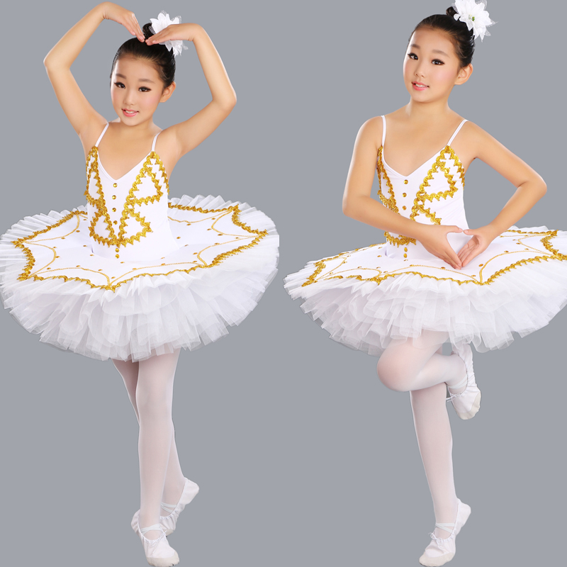 Балетная пачка для девочек Взрослый профессиональная балетная пачка Для женщин Дети Лебединое озеро костюмы для девочек блин балерина пла...