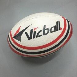 Размер 9 для регби, спортивные мячи официальный ПУ Американский футбол Регби мяч прочный регбийный мяч для тренировки матча