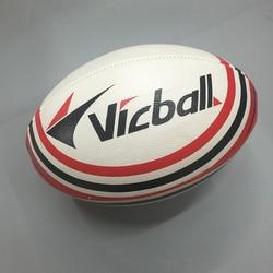 Размер 9 для регби, спортивных мячей Официальный PU для американского футбола и регби мяч прочный регбийный для тренировки матча
