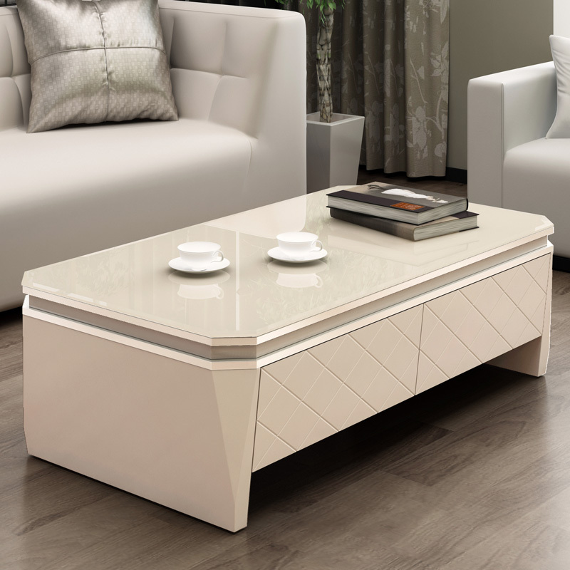 Treasure house minimalist modern rectangular fashion small apartment living room coffee table coffee table ikea coffee table wit in coffee tables from