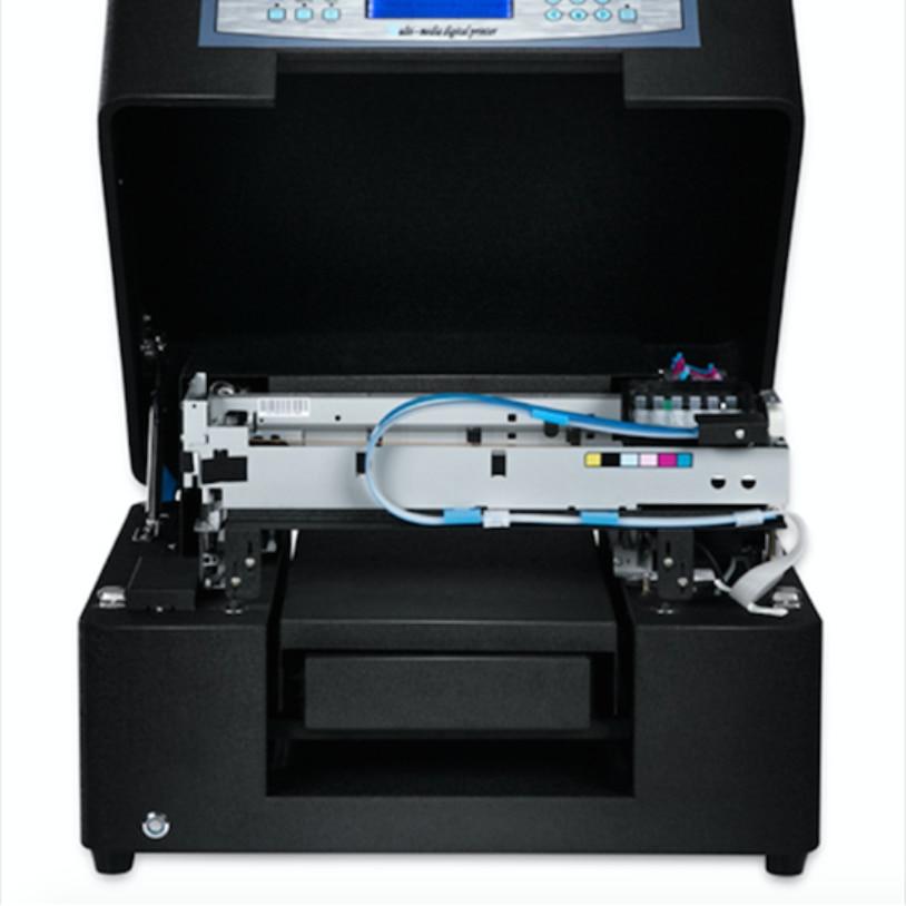 High Quality Dog Tag Printer Solvent Inkjet Flatbed  Printer