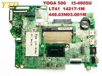 Original for Lenovo yoga 500 laptop motherboard i3 4005u LT41 14217 1M 448.03N03.001M tested dood free shipping