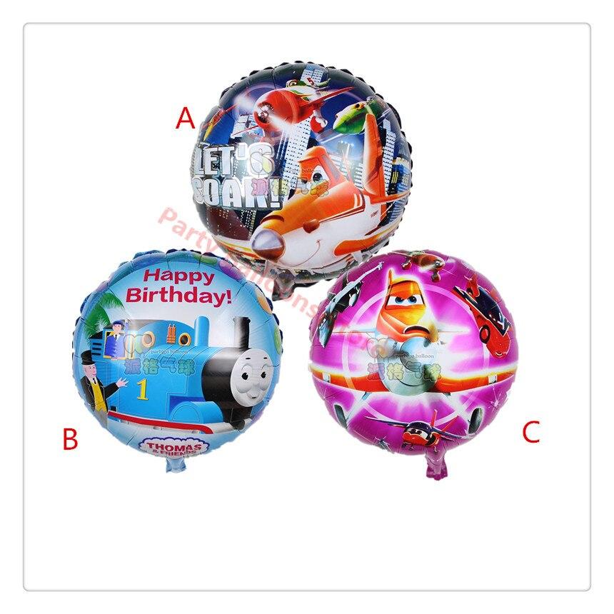 wholesale 50pcs set thomas balloon cartoon car balloon baby boy birthday decorations helium foil. Black Bedroom Furniture Sets. Home Design Ideas