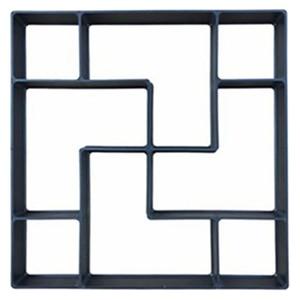Image 2 - 40*40*4cm DIY Paving Mold Stepping Stone Pavement Driveway Patio Paver Path Maker Floor Garden Design