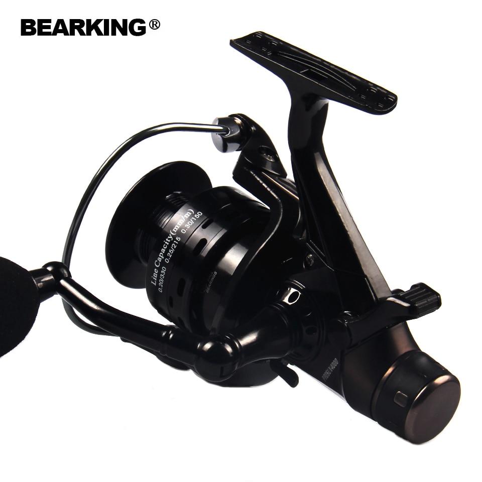 Bearking fishing reel double brake carp fishing feeder for Carp fishing reels