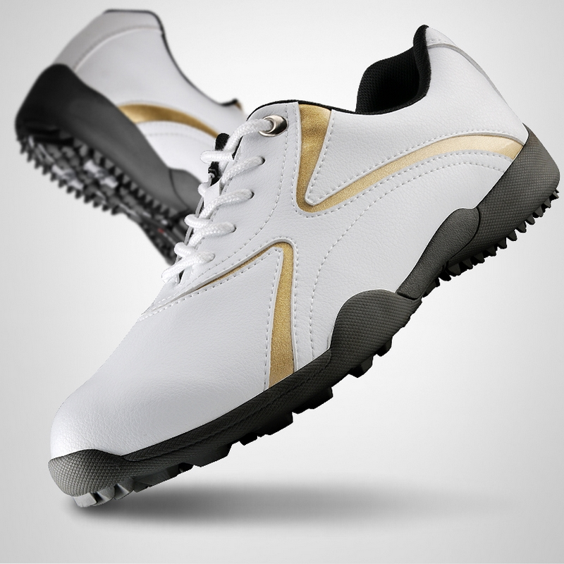 ФОТО Men Golf Shoes Soft Footwear Classic Sport Sneakers Outdoor Breathable Trainers Size Eu 39-44 AA10094