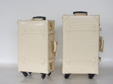 Индивидуальные! новое поступление; винтажные дорожная сумка плед Универсальный колеса тележки для багажа bag18 20 22 24 28 30 дюймов старинные карта мира сумка