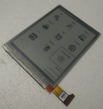 6″   lcd display screen For Digma r660 without Backlight  LCD Display Screen E-book Ebook Reader Replacement