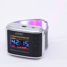 Improved blood flow Cold LASER WATCH Therapy Tinnitus Rhinitis High Blood Pressure Clean Trash Fat