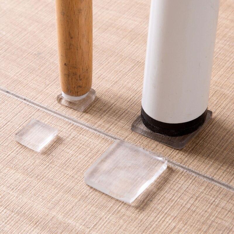 4pcs! Thickening Washing Machine Anti-vibration Silencer Protection Pads PU Rubber Furniture Chair Feet Flooring Non-slip Mats