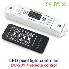LED Pixel SPI Strip Controller RGB RGBW Dimmer Digital Addressable Control 2801 2811 2812 8806 IC Tape Strip Lights DC5V-24V цена