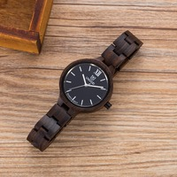 Top Brand Luxury UWood W3361 High Quality Vintage Fashion Wood Women S Wood Watches Sandal Wooden