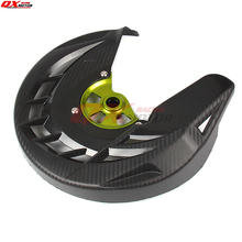 Front brake disk protective cover For KX125 KX250 KXF250 KXF450 KLX450R Dirt Bike Motocross Off Road Motorcycle Free shipping