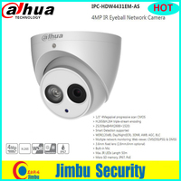 Dahua 4MP security IP camera POE IP67 IPC HDW4431EM AS Metal body Built in Mic H.265&H.264 IR Eyeball Network Camera