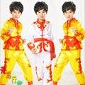 Child Kids Boy Chinese Traditional Clothing Kungfu Suit Kung Fu Uniform