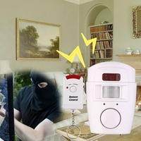 2 Remote Controller Wireless Home Security PIR MP Alert Infrared Sensor Alarm System Anti Theft Motion
