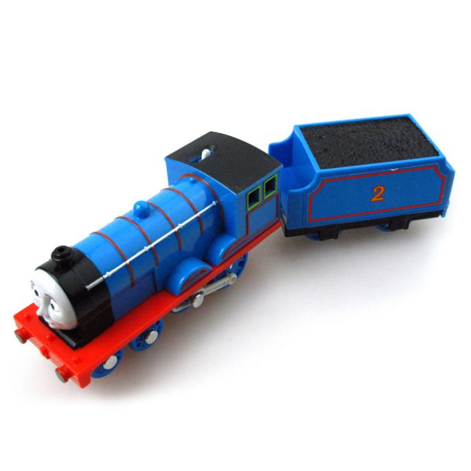 T0188 Edward Electric Thomas and friend Trackmaster engine Motorized train with Compartments Chinldren child kids plastic toys ...