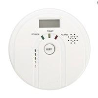 Safurance LCD CO Carbon Monoxide Poisoning Smoke Gas Sensor Warning Alarm Detector Tester Home Security