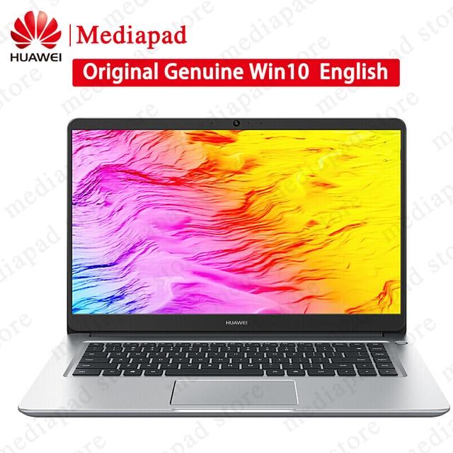 2018 New 15 6 inch Huawei MateBook D 8th Intel i5-8250U NoteBook 8GB DDR4  128GB SSD+1TB SATA HDD Windows 10 FHD IPS Computer PC