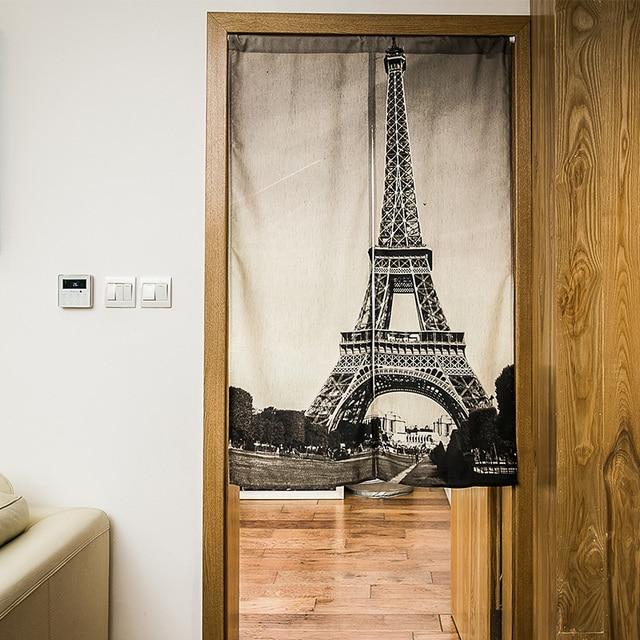 Schöne Vorhänge Eiffelturm Tür Vorhang Küche Badezimmer Schlafzimmer  Vorhang Feng Shui Tür Vorhang