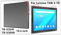 """вкладка ПУ чехол для компания Lenovo 4 10 защитный смарт-чехол для вкладки Lenovo в 410 tab4 10 ТБ-x304n случаях Ф 10.1 """" + gitf"""