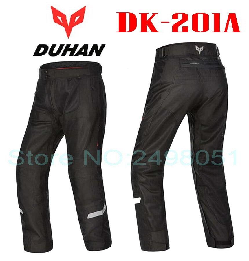 2016 Newest summer mesh DUHAN motorcycle riding pant Moto racing pants man motorbike trousers 600D oxford