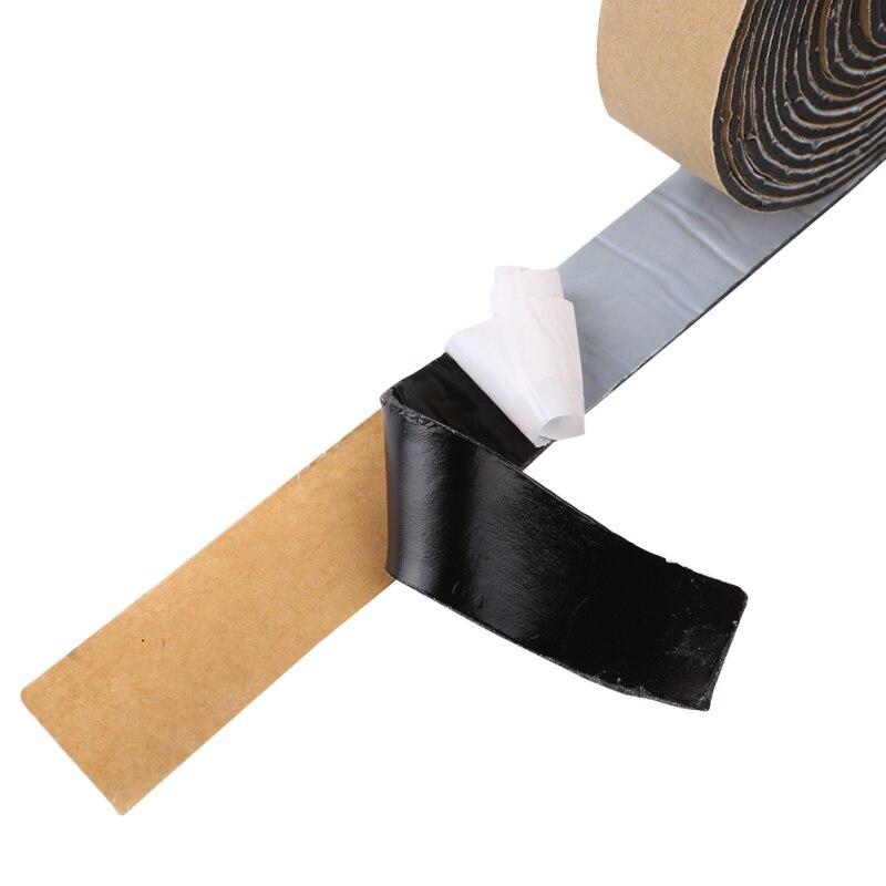2*320CM Black BUTYL RUBBER GLUE HEADLIGHT SEALANT RETROFIT Reseal HID Headlamps TAILLIGHT Shield Glue Tapes For Car