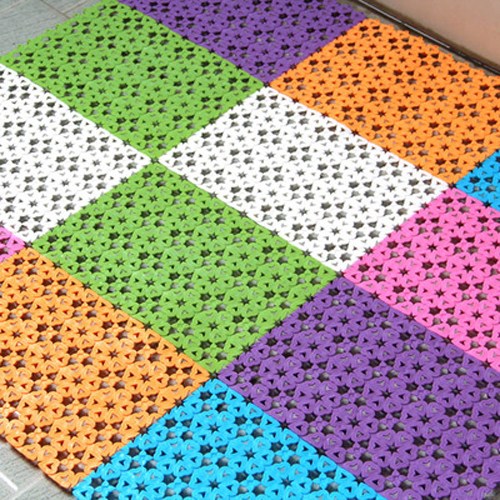 non slip mats for bathroom floor 1pcs flower design diy patchwork bathroom floor mat non 25631