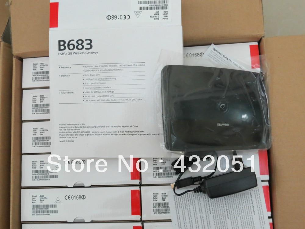Gratis verzending Unlock Huawei B683 4G 3G draadloze router WPS USB - Netwerkapparatuur - Foto 2
