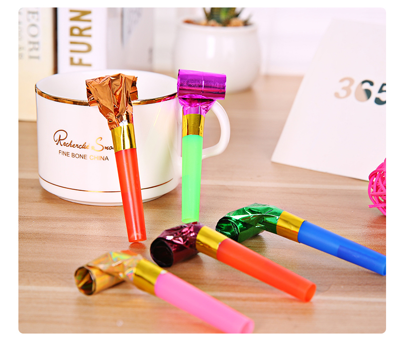 Funny Colorful Whistles Kids Childrens Birthday Party Blowing Dragon Blowout Baby Birthday Supplies Toys gifts