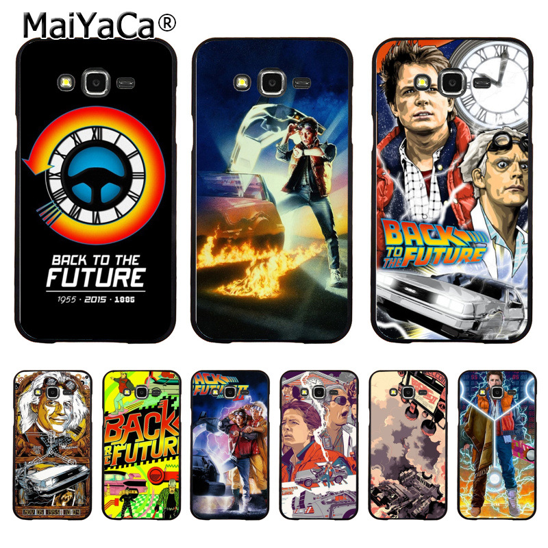 MaiYaCa Back To The Future DIY Painted Beautiful Coque Phone Case for Samsung J1 J3 J5 J7 Note 3 Note 4 Note 5