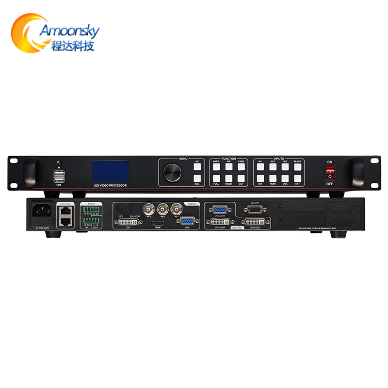 p16 outdoor full color led display controller outdoor strip display video processor ams-lvp613u usb oem video processorp16 outdoor full color led display controller outdoor strip display video processor ams-lvp613u usb oem video processor