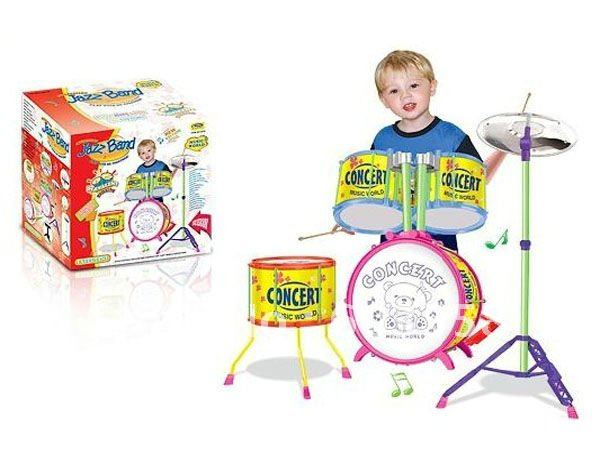 Musical Toys Jazz Band Drum Set Toys In Toy Musical Instrument From