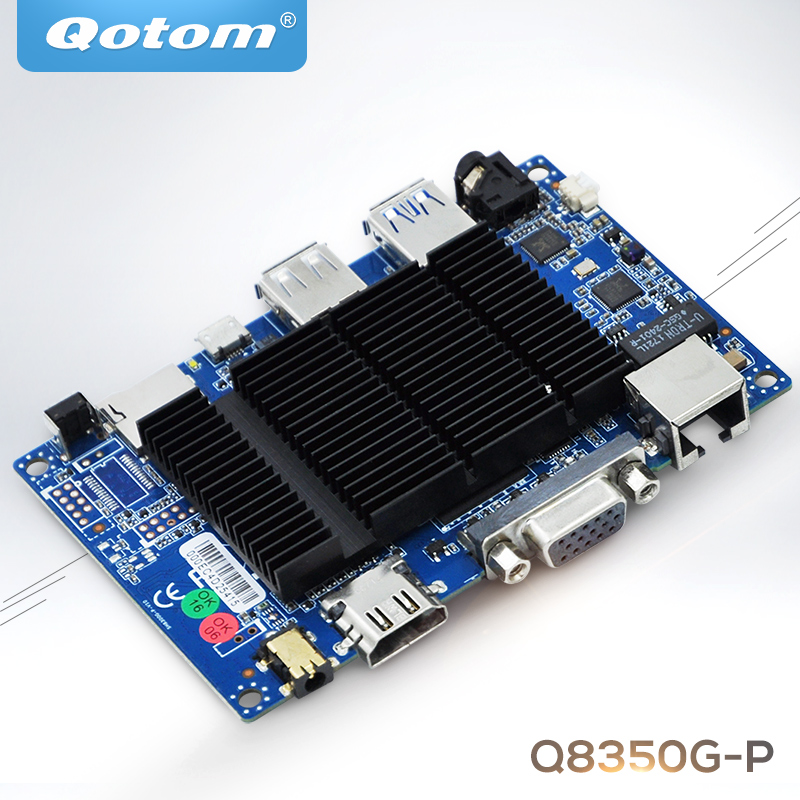 New fanless Q3850  X86 PICO ITX Motherboard wintel  Atom X5-Z8350 Cherry Trail ultra thin pc d525 motherboard fanless mini itx motherboard with onboard ddr3 2gb ram
