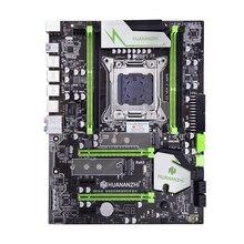 Huananzhi x79 placa mãe lga2011 atx usb3.0 sata3 pci e nvme m.2 ssd suporte reg memória ecc e xeon e5 processador