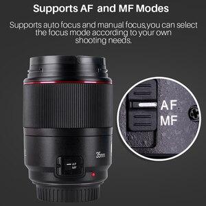 Image 5 - Objectif grand Angle YONGNUO YN35MM F1.4 pour objectifs de caméra reflex numérique à ouverture lumineuse Canon pour objectif Canon 600D 60D 5DII 5D 500D 400D