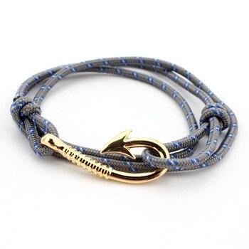 Bracelet Ancre En Or