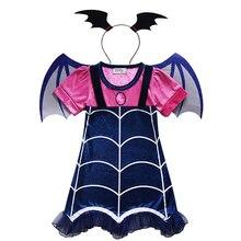 Horror Kostüme Kinder Scary Vampire Kostüme Mädchen Kleider Halloween Kostüme für Kinder Phantasie Kleid Für Mädchen