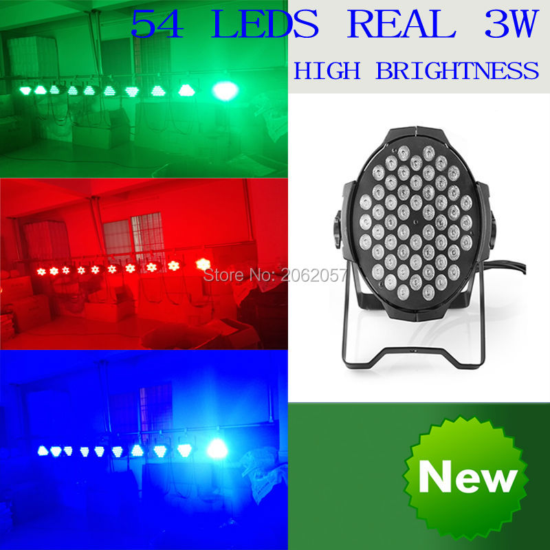 54*3w LED Par light  disco dj DMX512 stage effect lighting RGBW remote control par light profession stage light