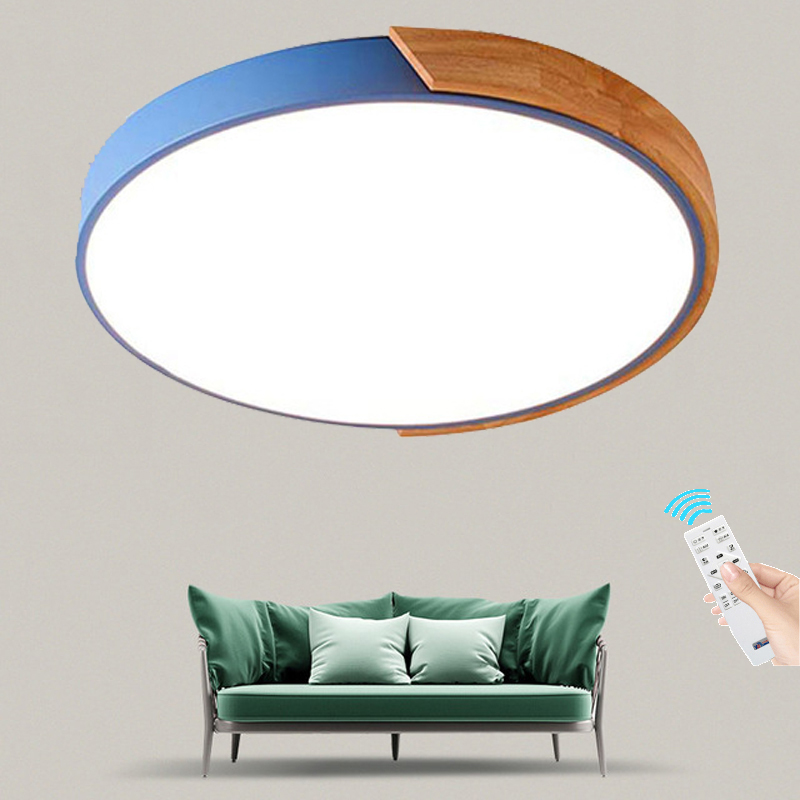 Japanese Tatami Led Ceiling Lamp Bedroom Ultra Thin: Aliexpress.com : Buy Nordic Simple Modern Wood Ceiling