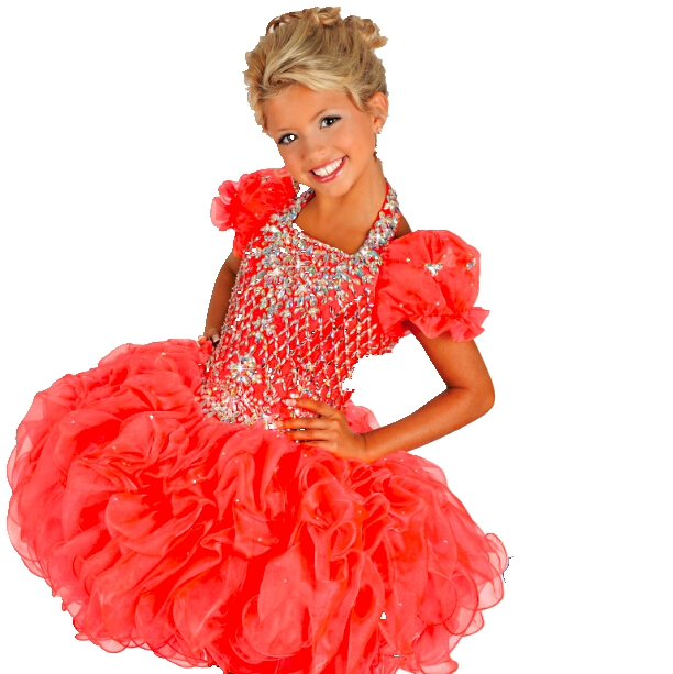 Popular Girls Cupcake Style Pageant Dresses-Buy Cheap Girls ...