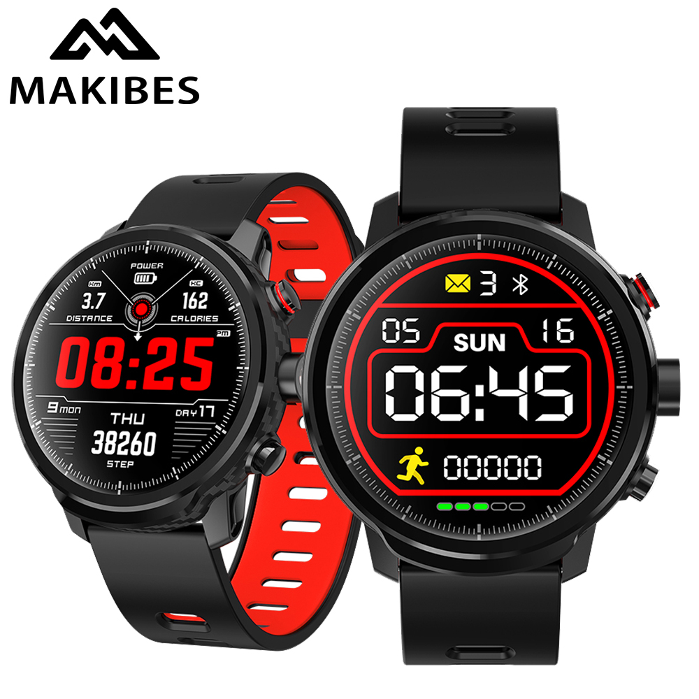 L5 Smart Watches Standby for 100 days IP68 waterproof Smartwatch Support Led lighting Message call reminder