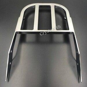Image 2 - Chrom/czarny motocyklowe oparcie kierowcy bagażnik uchwyt do Honda VTX 1300C 1800C 1800F VTX1300C VTX1800C VTX1800F