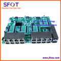 POE Interruptor reverso da placa, 2 Portas Rj45 SFP + 16 Portas FE Operacional PD switch, com VLAN