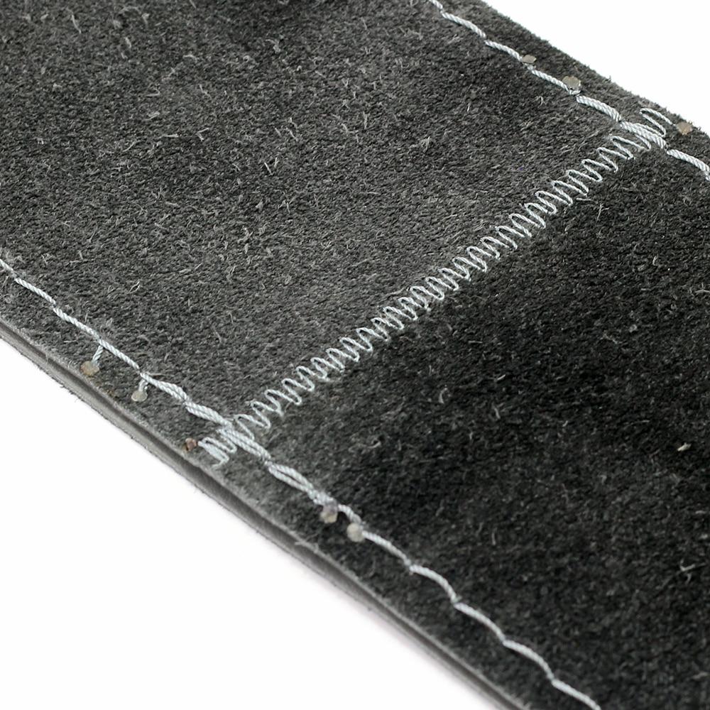 VENSECO 38 cm cuero genuino cubierta del volante capa superior de - Accesorios de interior de coche - foto 5