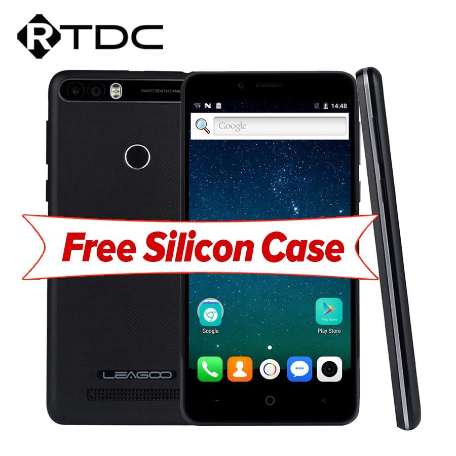 LEAGOO KIICAA POWER Android 7.0 Dual Back Camera Mobile Phone 4000mAh 5.0 Inch MT6580A Quad Core 2GB RAM 16GB Fingerprint