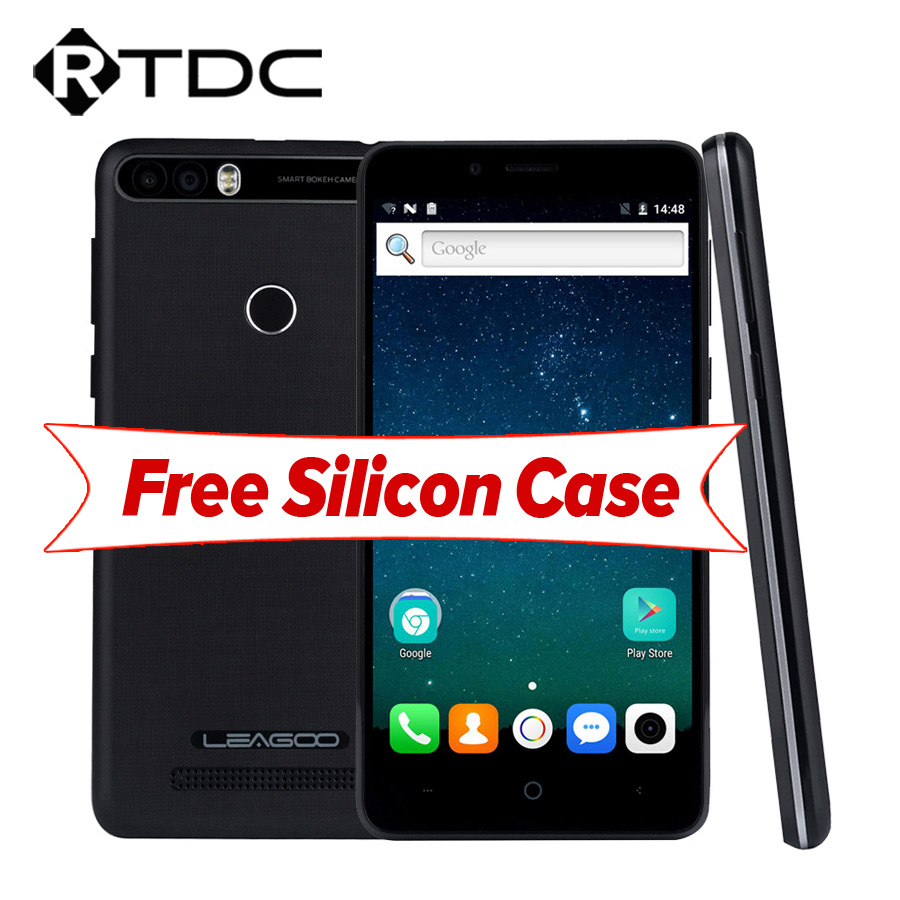 Leagoo kiicaa Питания Android 7.0 двойной назад Камера мобильный телефон 4000 мАч 5.0 дюймов mt6580a 4 ядра 2 ГБ Оперативная память 16 ГБ отпечатков пальцев