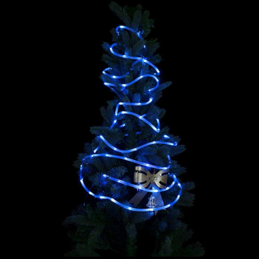50 Leds Solar Seil Lichter, 16.5ft Im Freien Wasserdichte LED ...