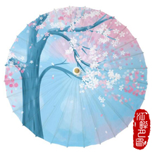 Chinese Oil Paper Umbrella Classical Style Decorative Umbrella Cherry Umbrel Hot Sale High Quality 2019 New Patterns Modern