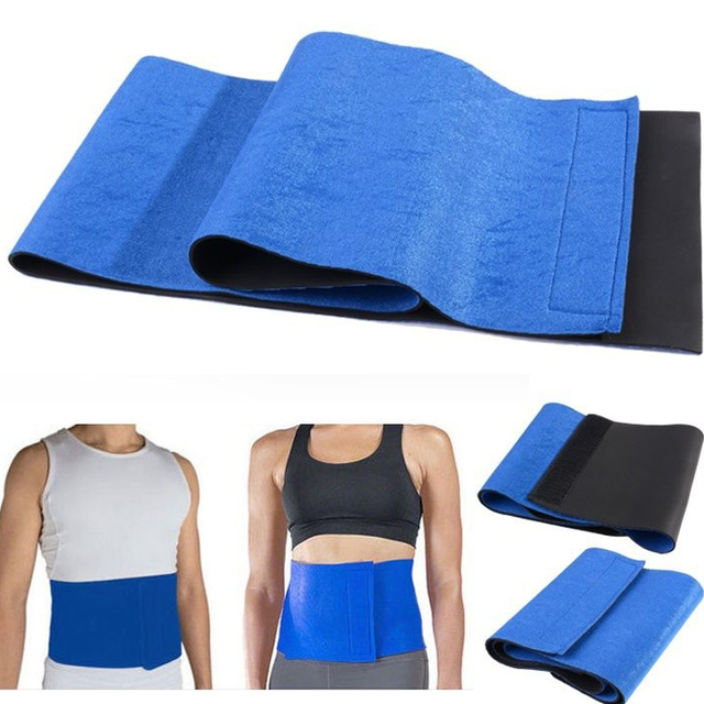 High Quality Men Belly Belt Tummy Trimmer Abdomen Elastic Waist Support Shaper Waist Belt Burn The Fat Adjustable